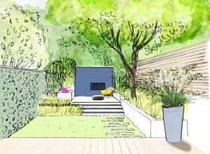 jardin bordeaux contemporain